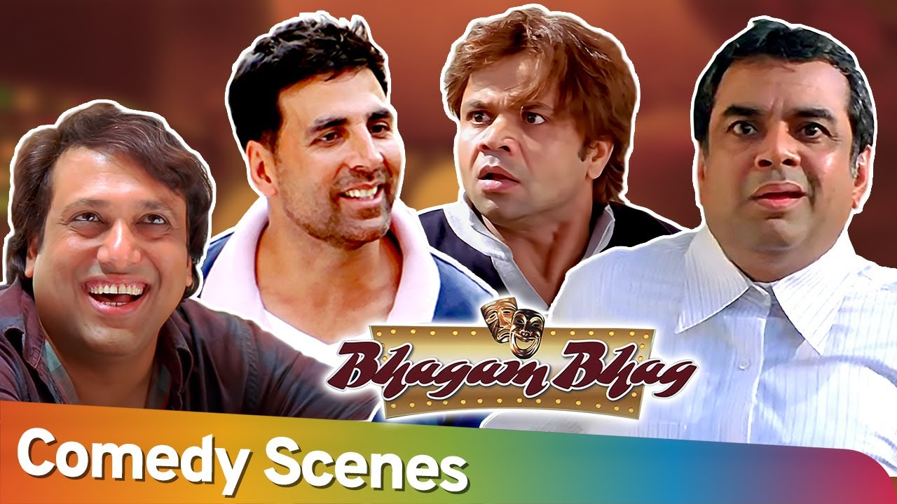 Download Best Comedy Scenes Of Superhit Movie Bhagam Bhag | Akshay Kumar - Paresh Rawal - Rajpal Yadav