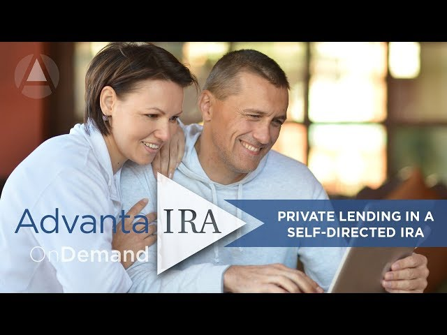 Private Lending with a Self-Directed IRA
