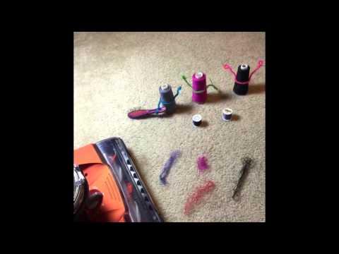 Eureka Brushroll Clean™ with SuctionSeal® vs Thread