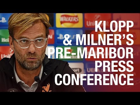 Klopp & Milner's pre-Maribor press conference in full | Who is fit for Champions League clash?