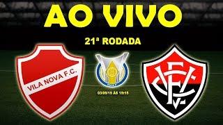 Vila Nova 0 x 2 Vitória | Brasileirão Série B | 21ª Rodada | 03/09/19