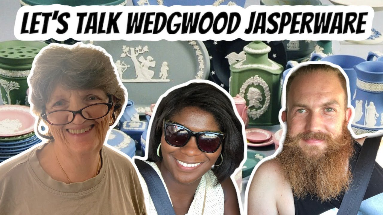 Selling Wedgwood Jasperware - Live with Josie, Tim, and Ma Dukes - Over The Years