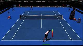 Full Ace Tennis Simulator: Federer VS Djokovic