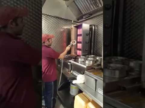 [卡帕多奇亚] New Technology Doner Kebab in Istanbul, Turkey