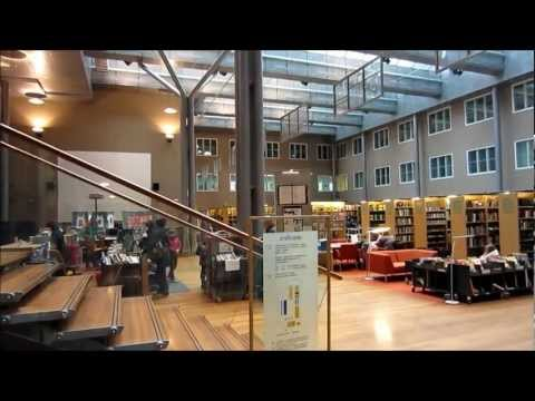 Arabianranta Library, Helsinki - Interior Design - Finland