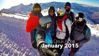 Les Deux Alpes 2015 | Eden Chaos Pizzle Neville Rayonce Bulge