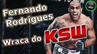 Fernando Rodrigues wraca do KSW !