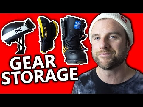How To Store Your Snowboard Gear