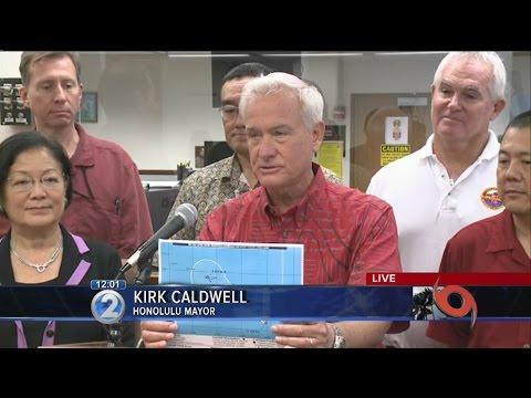 12pm Ana update: City and County of Honolulu, Big Island and Maui