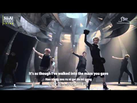 [ENG SUB + PINYIN + CHI | 720P] EXO - Wolf / 늑대와 미녀 (Chinese Ver.)