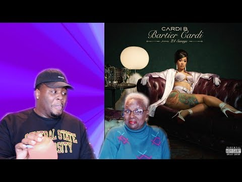 """GRANDMA REACTS TO CARDI B """"BARTIER CARDI""""*EXTREMELY FUNNY!*