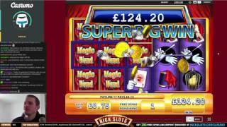 SUPER BIG WIN On Magic Wand - £0.75 Bet