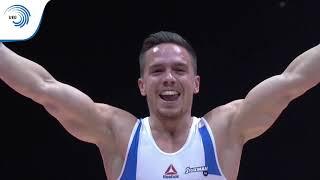 Eleftherios PETROUNIAS (GRE) - 2018 Artistic Gymnastics European Champion, rings