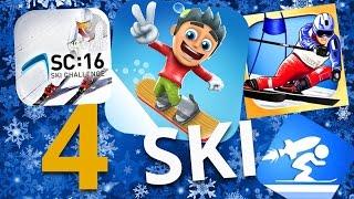4 jeux sur smartphone pour dévaler les pistes de ski !