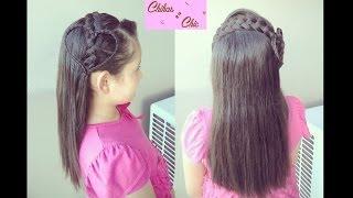 Hairstyle: Cute Braided Heart Headband | ChikasChic