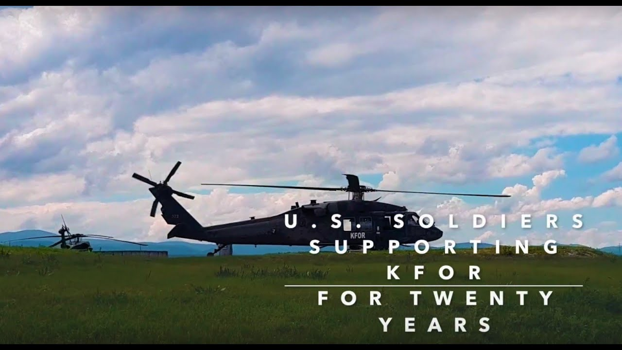 U S  Soldiers Supporting KFOR for Twenty Years | U S