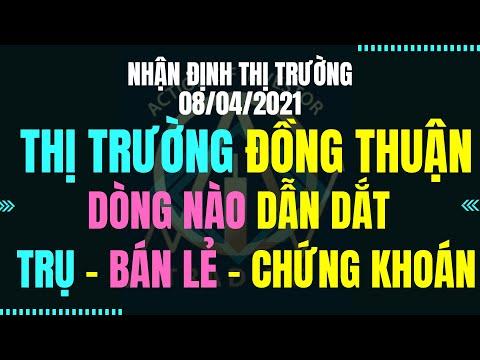 Chứng khoán hôm nay Nhận định thị trường:08/04:Đồng Thuận Bứt Phá. Dòng Dẫn và Điểm mua 80% rủi ro.