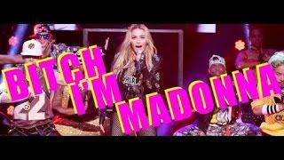 Madonna Bitch I M Madonna Ft Nicki Minaj Live