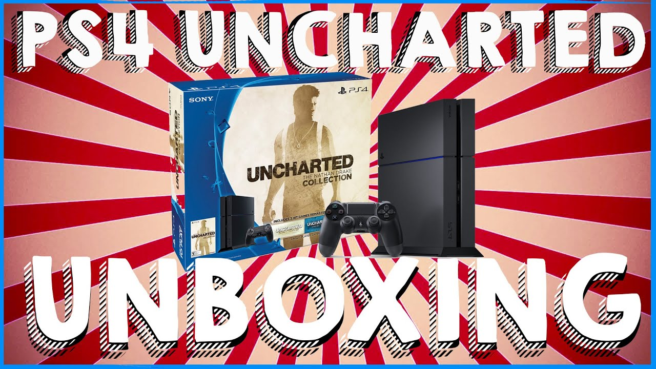 Unboxing Ps4 500gb Uncharted The Nathan Drake Collection Bundle