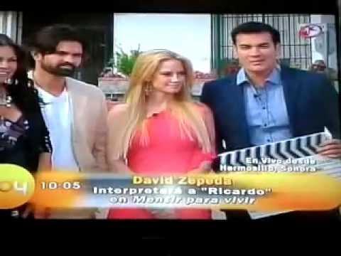 Elenco de Mentir para vivir - ( Entrevista programa HOY) Videos De Viajes