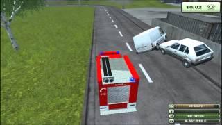 Feuerwehr / Pompier : Farming Simulator 2013