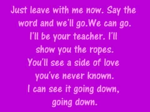 Jason Derulo  In My Head Lyrics on screen