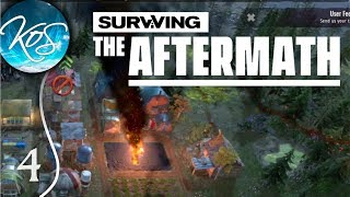 GLITCHES IN THE SKYE - Surviving the Aftermath Ep 4: (Post-Apocalyptic Colony Builder) Let's Play