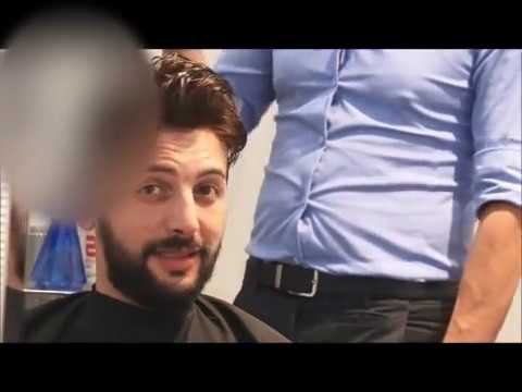 Protesi capelli in pellicola con front in lace HRS - YouTube
