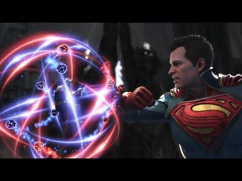 Injustice 2 : Atom Vs Superman & Bizarro - All Intro/Outros, Clash Dialogues, Super Moves