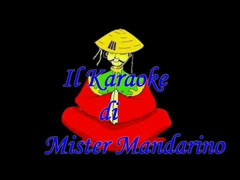 Pierangelo   Bertoli  -  Spunta La Luna Dal Monte . . . (  Karaoke Italiano  -   Fair Use )