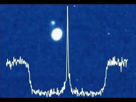 Central flash during Triton occultation