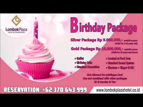 lombok plaza hotel package