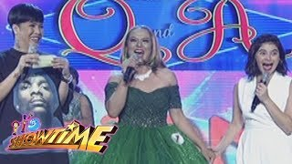 It's Showtime Miss Q & A: Maria Sofia Leonora's answer surprises Anne