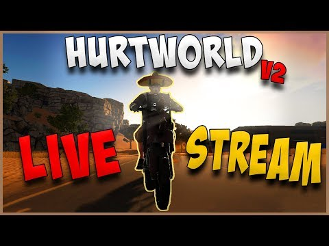 Hurtworld V2 - Huge New Update - UZI + Swimming and Oxygen + 2 NEW Town Events!! Fresh Wipe!