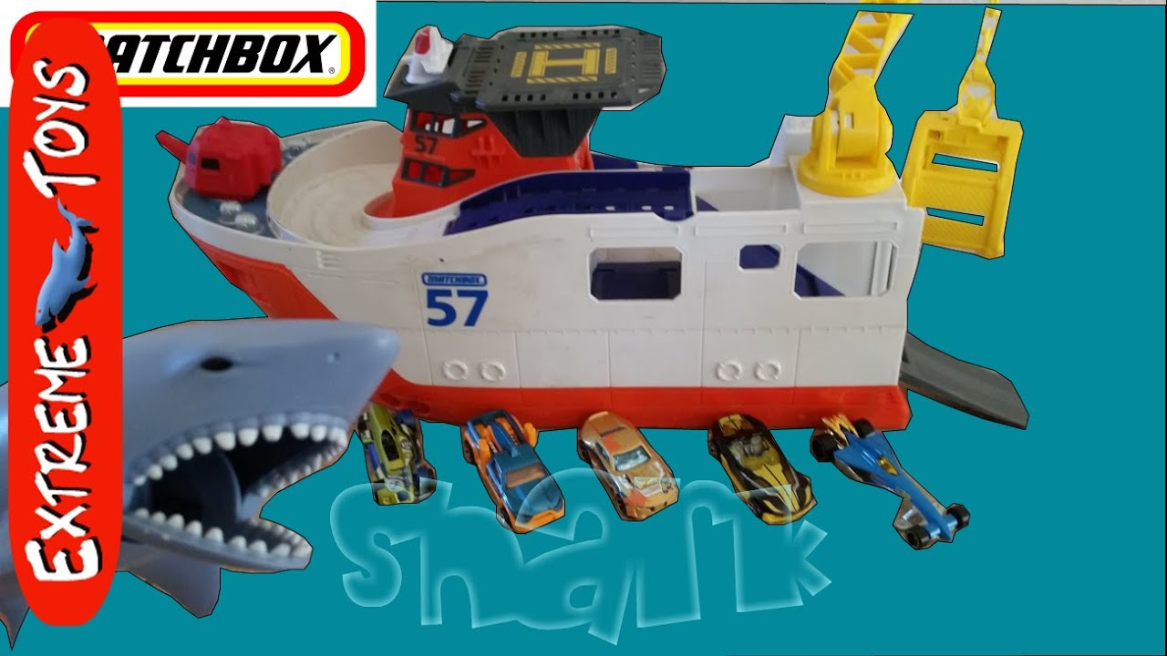 Shark Ship Toy : Matchbox mission marine rescue shark ship fun playing