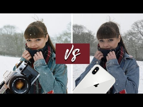 IPhone X Camera VS Canon AE-1 | Analog 35mm Film Camera!