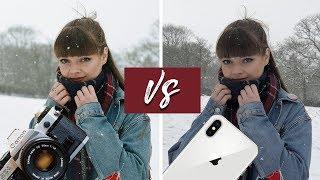 iPhone X Camera VS Canon AE-1  Analog 35mm Film Camera!
