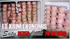 Ice Cream Wall Copycat Simple, Lembut, Ekonomis | 1 Resep Jadi 70-80 Cup