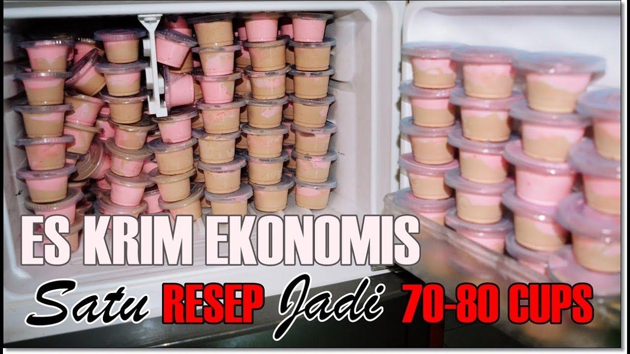 Ice Cream Wall Copycat Simple Lembut Ekonomis 1 Resep Jadi 70 80 Cup