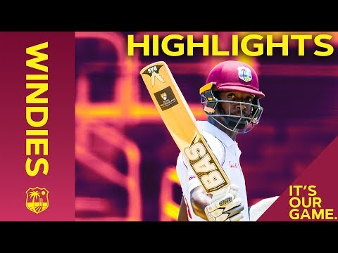 Sharmarh Brooks Hits 50 But India Wrap Up Win | Windies vs India 2nd Test Day 4 2019 - Highlights