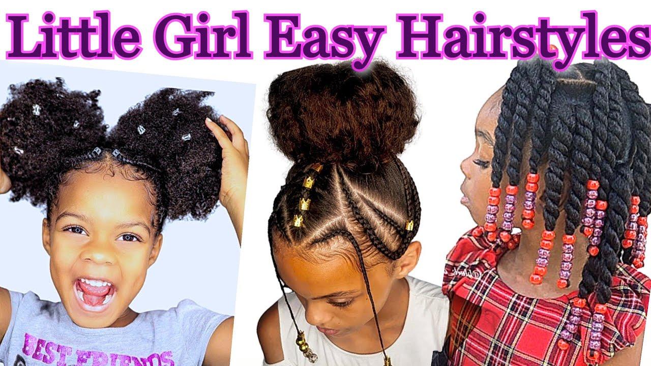 Little Girl Hairstyles Black    Cute & Easy Hairstyle Tutorials