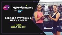My Performance 360 | Barbora Strycova & Hsieh Su-Wei | 2020 Brisbane Doubles Final