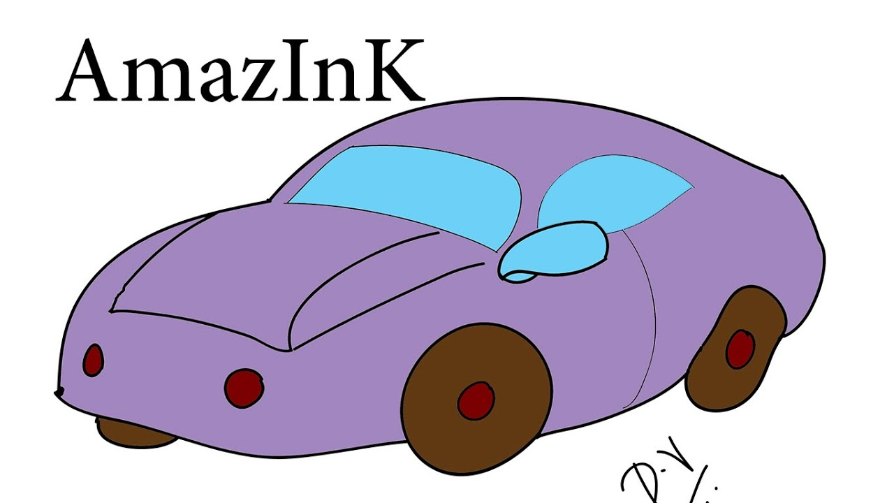 learn how to draw a toy car youtube