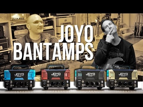 Joyo Bantamps - BlueJay, Jackman, Meteor, Zombie - with Kris