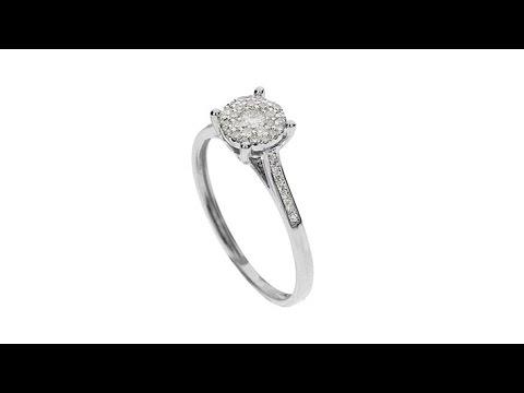 DmndCouture 14K Dmnd Shld Ring