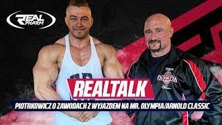 RealTalk - Robert Piotrkowicz o szczegółach swoich zawodów z wyjazdem na Mr. Olympia/Arnold Classic
