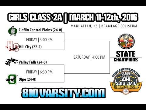 KSHSAA 2A Kansas High School State Basketball Championships Manhattan KS