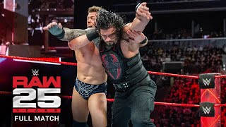 FULL MATCH - Roman Reigns vs. The Miz – Intercontinental Title Match: Raw, January 22, 2018