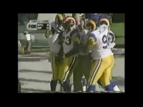 1999 Week 11 Rams vs 49ers Highlights