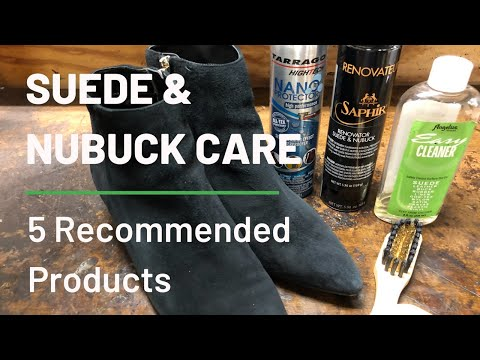 How To Care For Suede & Nubuck - 5 Recommended Products Shoe Cobblers Use